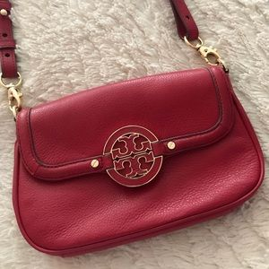 Tory Burch Red Crossbody